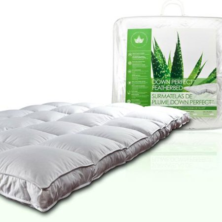 Canadian Down & Feather Company  Down Perfect Pillow Top Featherbed - Pillow Featherbed Costume