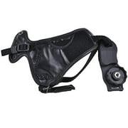 Micnova MQ-HS8 Leather Grip and Wrist Strap for Canon EOS, Nikon, Sony Alpha, Pentax, Olympus, Panasonic DSLR Cameras