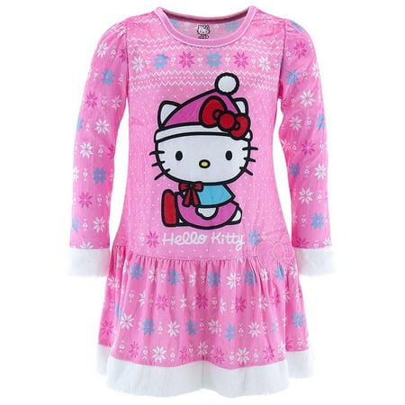 Girls' Hello Kitty Sleep Gown (Hello Kitty Spectacles)