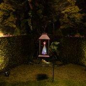 Alpine Corporation Christmas Tree Lantern Stake with LED Lights ()