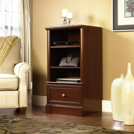 Sauder Palladia Audio Media Tower, - Left Audio Cabinet