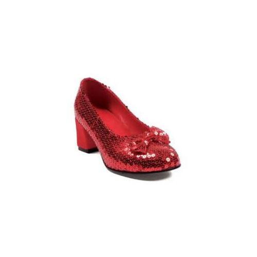 Elllie Judy Pump With Sequins 203-JudyEL Red