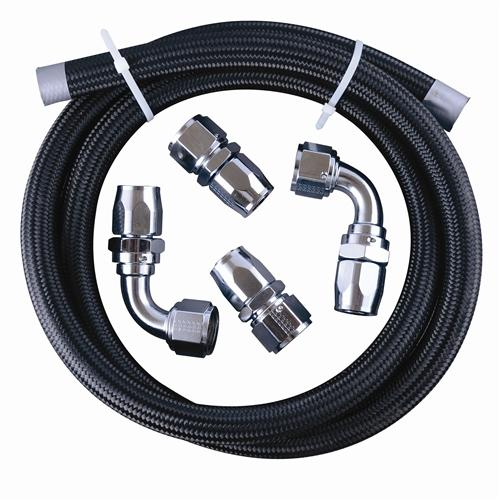 Fragola Performance Systems 900649-CH VACUUM PUMP PLUMBING KIT (#12) CHROME