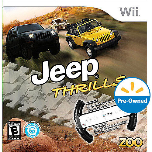 Jeep Thrill - Game Only (Wii) - Pre-Owned