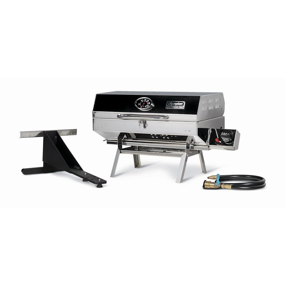 Camco Olympian 5500 Stainless Steel Portable RV Grill