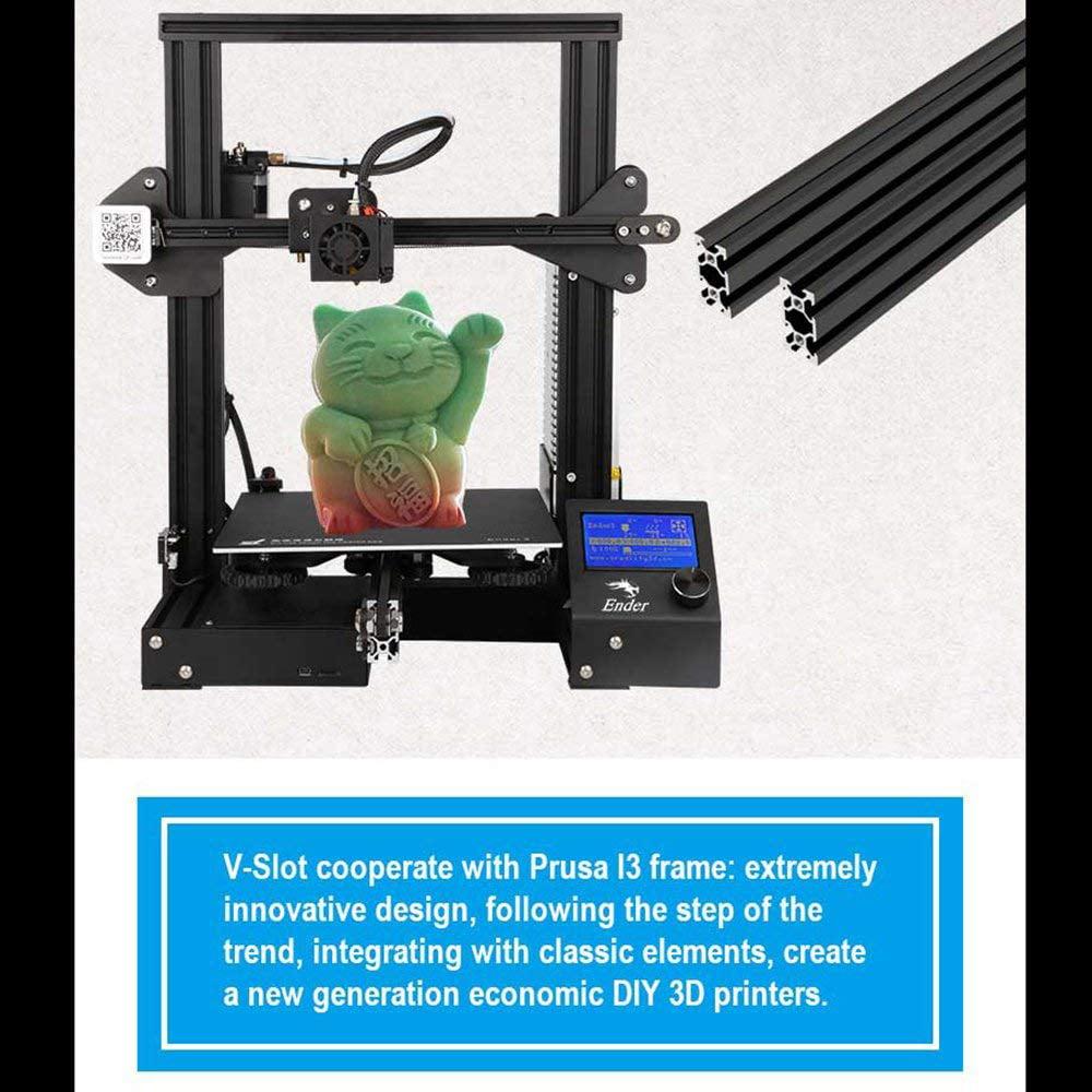 Creality 3D Printer Ender-3 Customized 220*220*250 Printing Size DIY 3D Printer Kit Max Traveling Speed 180mm/s 1.75mm PLA TPU ABS Fliament