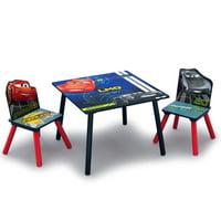 Delta Children Disney Pixar Cars Kids Wood Table & Chair Set