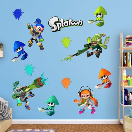 Fathead Splatoon Wall Decal (Fathead Wall Graphic)