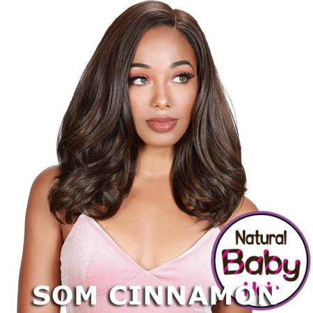 Sis Beyond Deep Side Part Lace Front Wig - GINA (1b Off Black) - Twisted Sister Wig