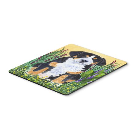 Greater Swiss Mountain Dog Mouse Pad / Hot Pad / Trivet