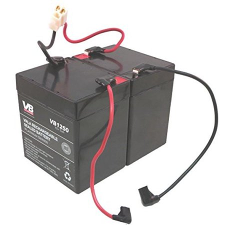 Razor E100 Scooter Batteries   5Ah With Wire Harness By Vici Battery