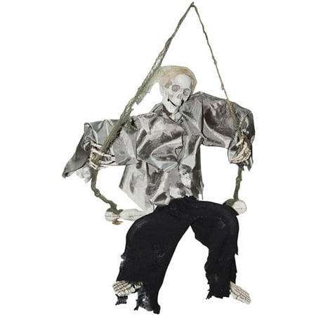 Kicking Reaper on Swing Halloween Prop - Kick Buttowski Halloween