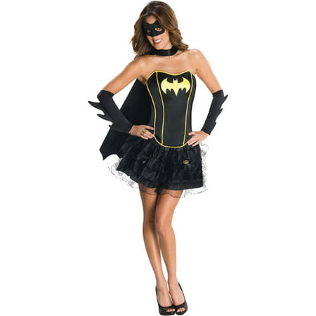 Batgirl Flirty Adult Halloween Costume - Adult Batgirl