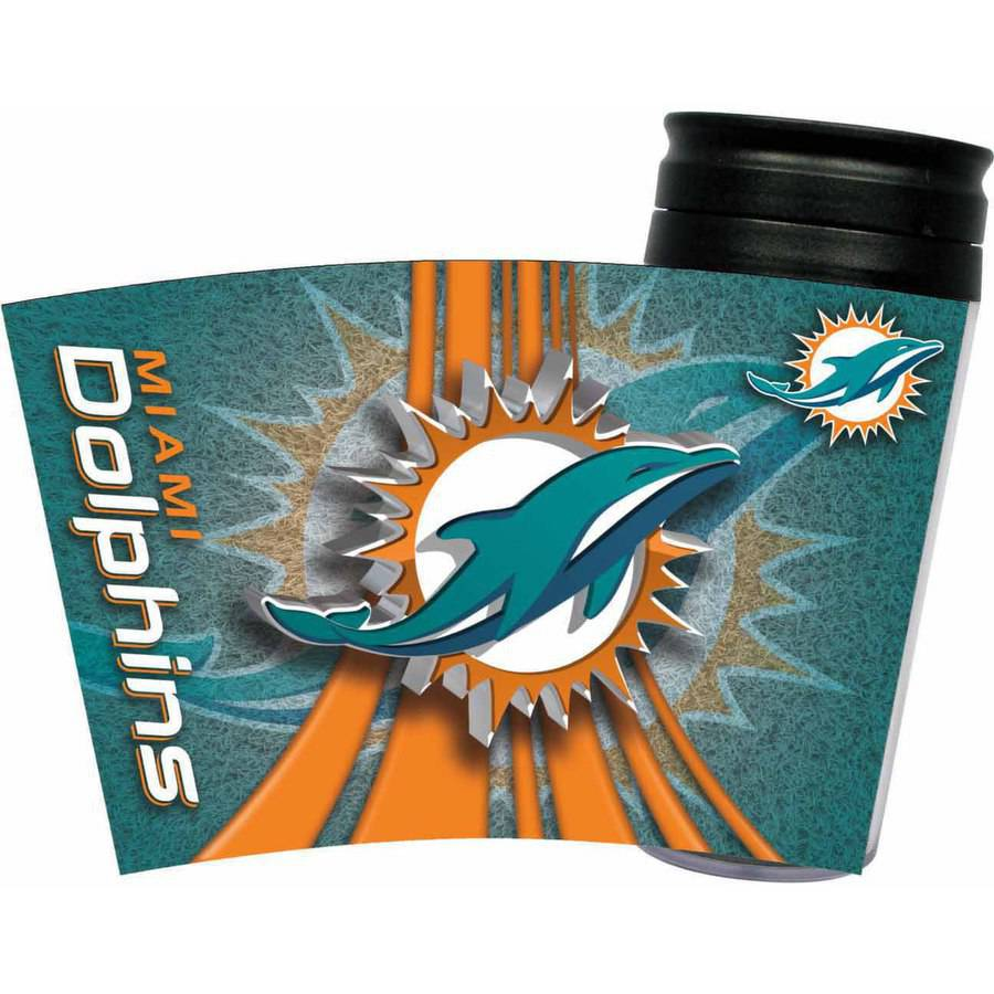 NFL Insulated Travel Tumbler, Miami Dolphins