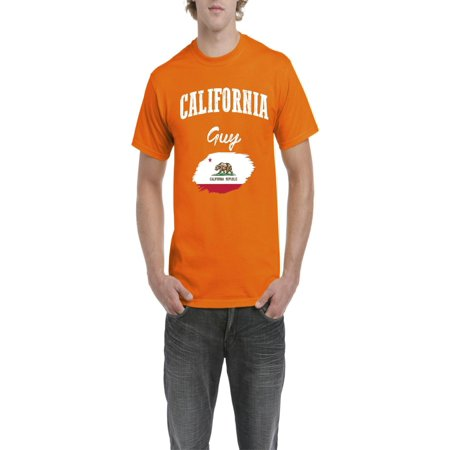 California Guy Men Shirts T-Shirt Tee