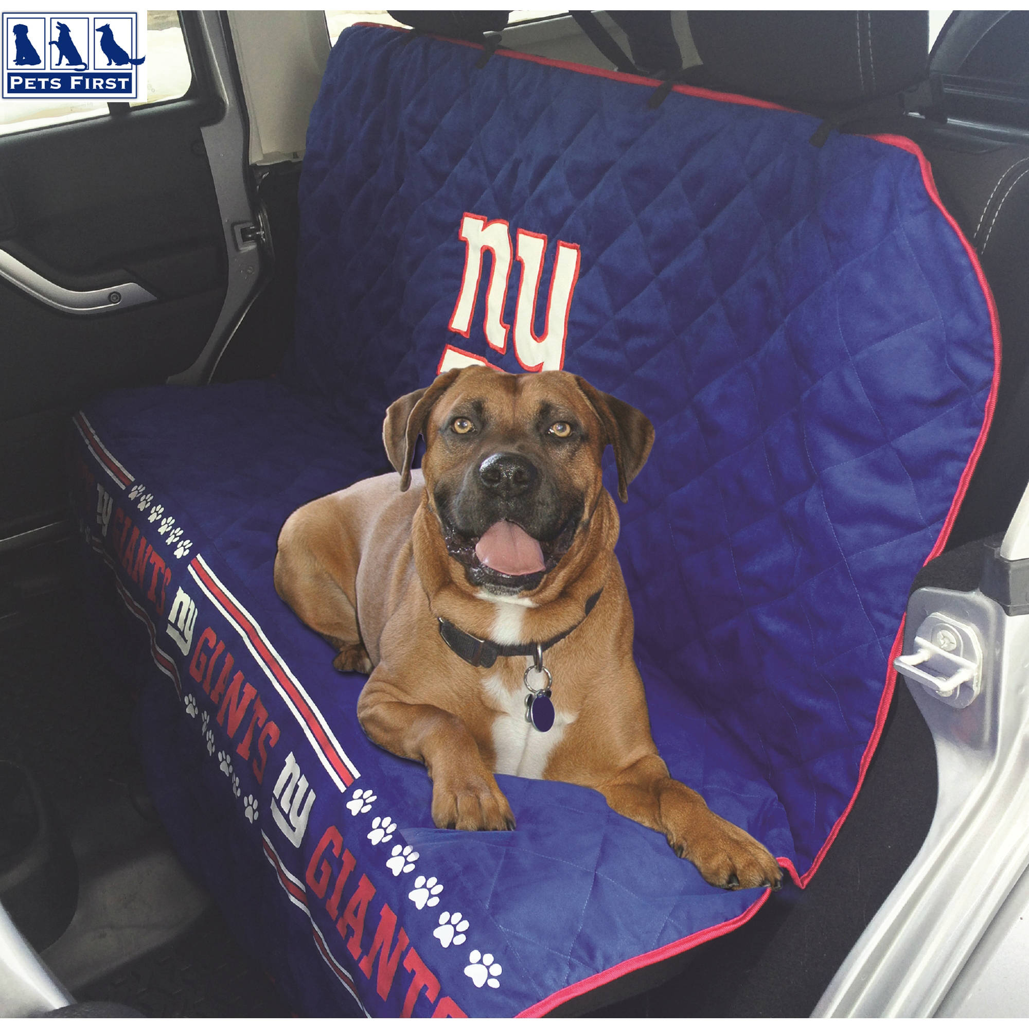 Pets First NFL New York Giants Car Seat Cover