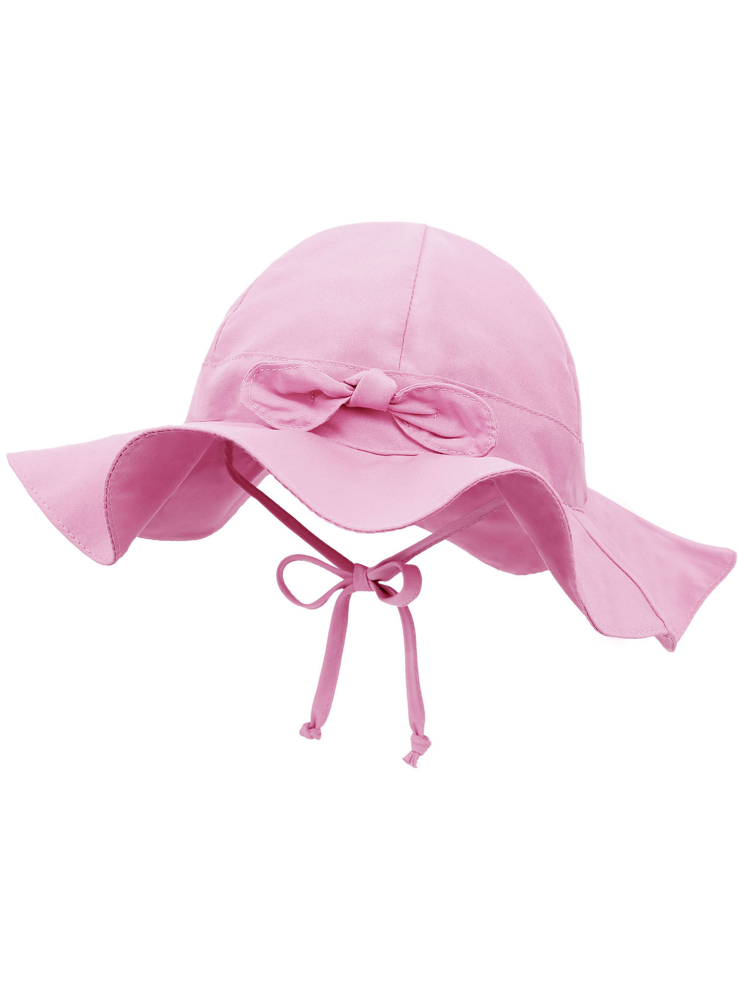 Baby Sun Hat Pink Small with Ducks  Baby Summer Hat
