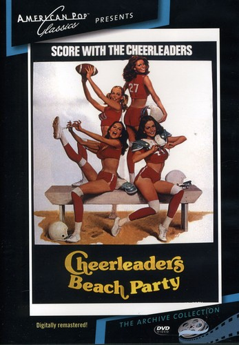 Cheerleaders Beach Party by