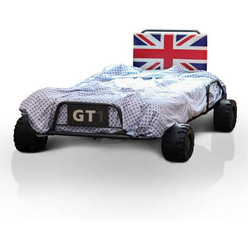 Furniture of America UK Racecar Kids Multi-Color Bed, Twin