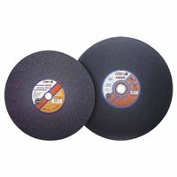 Cut-Off Wheel, Chop Saws, 14 in Dia, 3 32 in Thick, Hardness Grade P, 30 Grit, Sold As 1... by