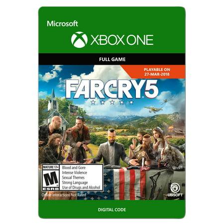 Far Cry 5, Ubisoft, Xbox, [Digital Download], 799366506003