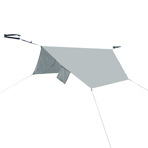 PahaQue Rainfly Hammock, Grey Double by PahaQue