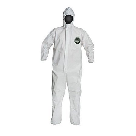 PROSHIELD� 50, COVERALL, ZIPPER FRONT, HOOD, ELASTIC WRIST AND ANKLE, STORMFLAP