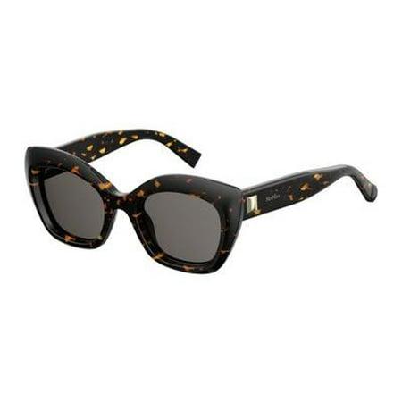 max mara women's mm prism vii square sunglasses, dkhavana, 50 (Max And Co Sunglasses 2014)
