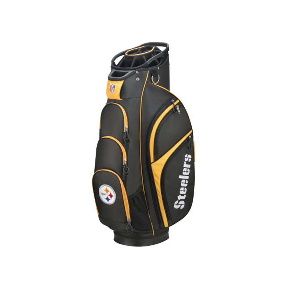 Wilson NFL Cart Golf Bag, Pittsburgh Steelers by Wilson Sporting Goods