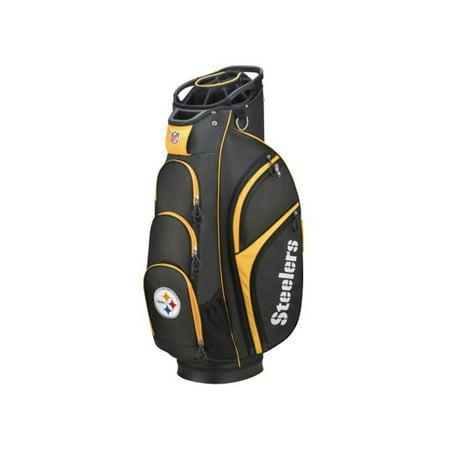 Wilson NFL Cart Golf Bag, Pittsburgh Steelers ()