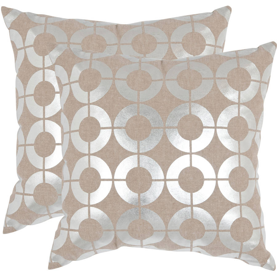 Safavieh Bailey Geometric Pillow, Set of 2