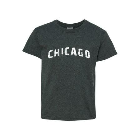 Chicago illinois State Flag Unisex Youth Shirts T-Shirt Tee