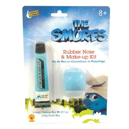 The Smurfs Rubber Nose & Makeup Kit - Fox Nose Makeup