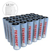 Best Aa Rechargeable Batteries - Tenergy 24 Pack AA 2500mAh NiMH Rechargeable Battery Review