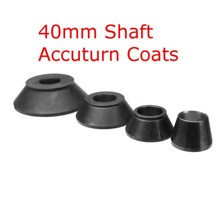 Aimeeli 4Pcs 40mm Shaft Wheel Balancer Standard Taper Cone Kit Set Tools Accuturn Coats Iron 0.2