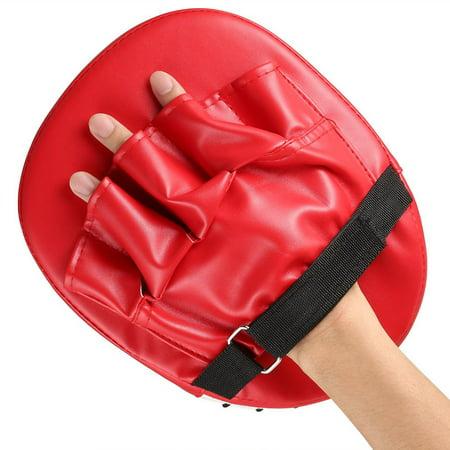 Flexible Hand Fist Target Pads Sanda Taekwondo Foot Muay Thai MMA Boxing Pad - image 4 of 5