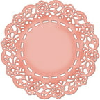 CottageCutz Die, 4 by 4-Inch, Tea Time Doily Multi-Colored