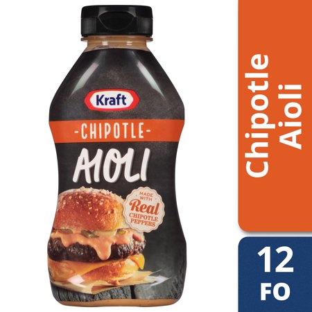 (3 Pack) Kraft Mayo Chipotle Aioli, 12 Fl Oz (Cranberry Chipotle)