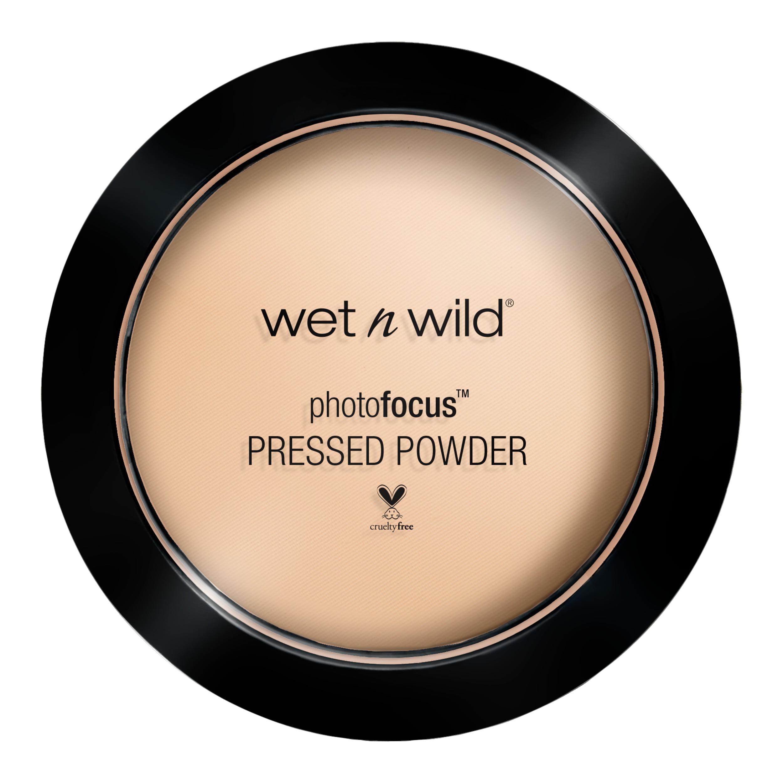 wet n wild Photo Focus Pressed Powder, Warm Light