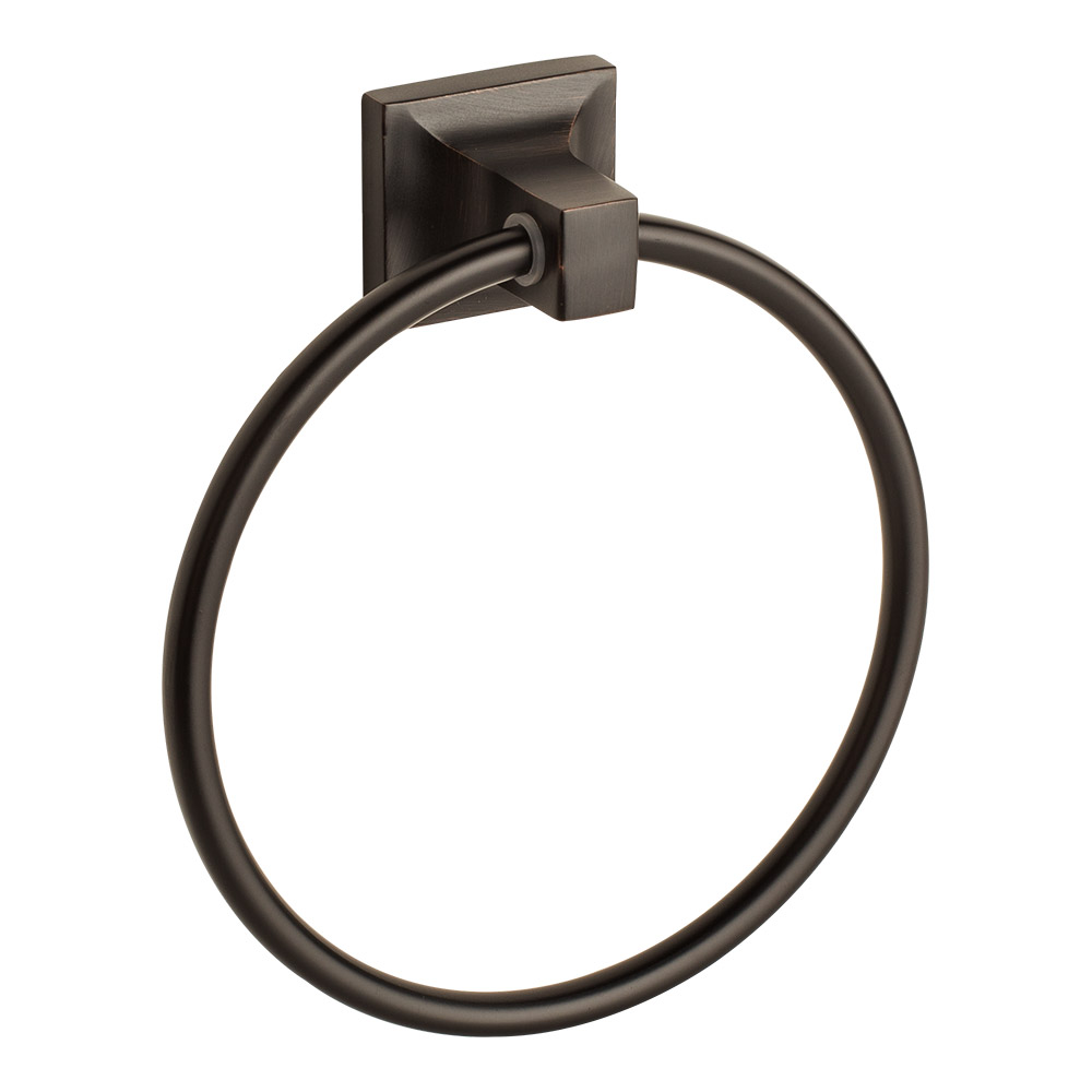 Oil Rubbed Bronze Towel Ring Holder Hanger Bathroom Hardware Bath Accessory by