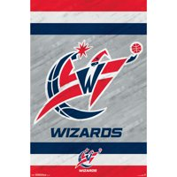 Washington Wizards 22'' x 34'' Logo Team Poster - No Size