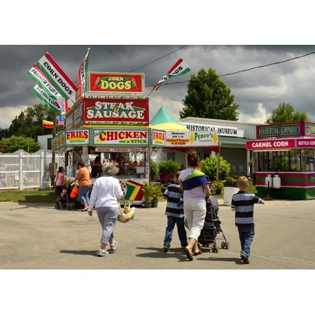 LAMINATED POSTER 4-h Fair In Elkhart Rural Country Indiana County Poster  Print 11 x 17