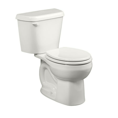 American Standard 221DA.004.020 Colony Round Front Two-Piece 1.6 GPF Toilet with 12
