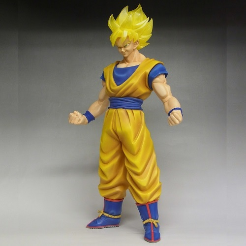SDCC 2015 San Diego Comic Con Exclusive Dragon Ball Z Super Saiyan Goku 18 Figure X-Plus