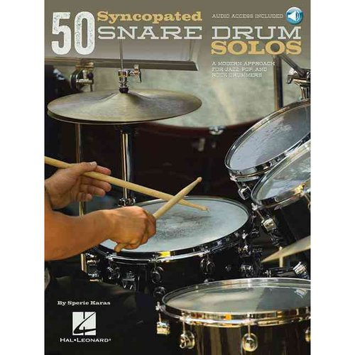 50 Syncopated Snare Drum Solos by