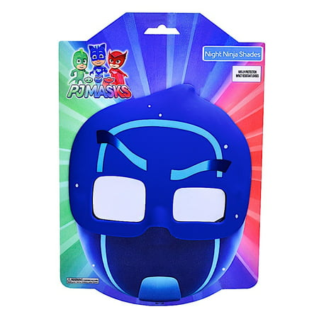 Dark Night Of The Scarecrow Mask (Party Costumes - Sun-Staches - Pj Mask Night Ninja Cosplay)