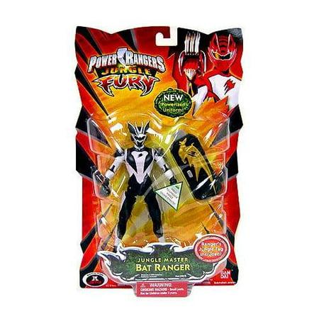 Power Rangers Jungle Fury Jungle Master Bat Ranger Action