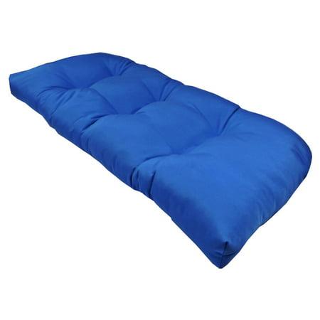 Chair Cushion Dupione (Cushion Pros Sunbrella Wicker Loveseat Cushion)
