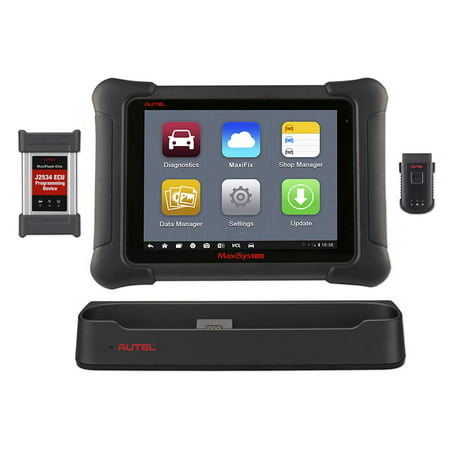 Autel Maxisys Elite Car Diagnostic Tool (Upgraded Version of MS908P Pro) with Wifi Bluetooth Full OBD2 Scanner with J2534 ECU Programming & 2 Years Free