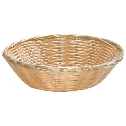 Round Handwoven Food Serving Basket, Natural ,Tablecraft Products Company, 1175W